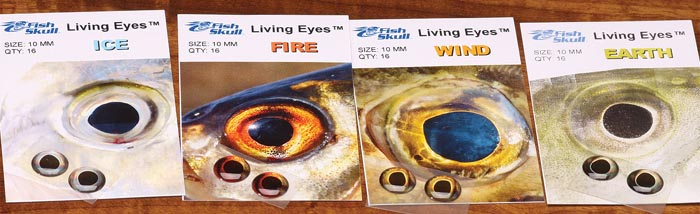 Details about  /FISH-SKULL® LIVING EYES Realistic Fly Tying 3D eyes