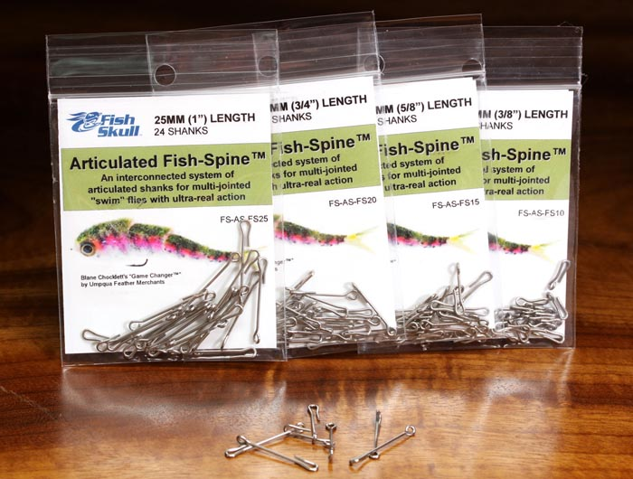 Articulated Shanks Bulk Fly Tying Game Changers 40 Pack