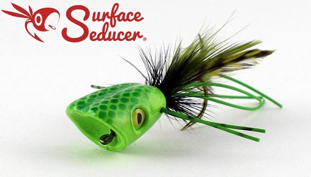 surface_seducer_double_barrel_bass_bug_popper_green_chartreuse_lg