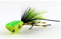 surface_seducer_double_barrel_bass_bug_popper_yellow_chartreuse
