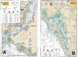 waterproof_chart_020F_estero_bay_caloosahatchee_river