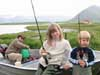 Fishing in North Iceland