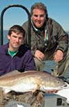 Hochner Jr and Sr with a Redfish